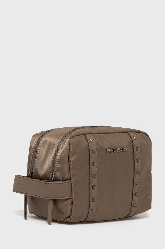Pepe Jeans - Kosmetická taška ROXANNE béžová