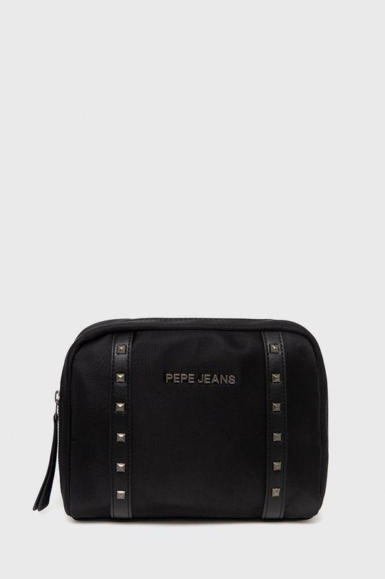 czarny Pepe Jeans - Kosmetyczka Roxanne Damski
