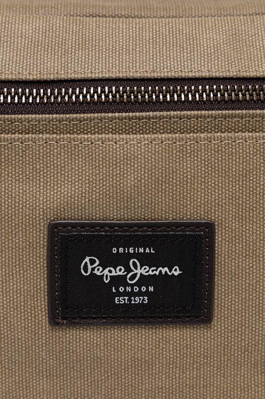 Pepe Jeans - Kosmetická taška béžová