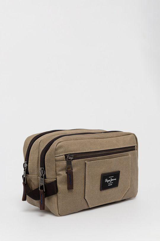 Pepe Jeans - Kosmetická taška  Podšívka: 100% Polyester Hlavní materiál: 50% Bavlna, 33% Polyester, 17% PU
