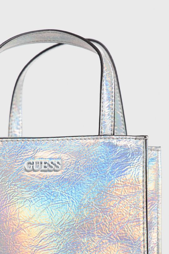 Guess - Kabelka stříbrná