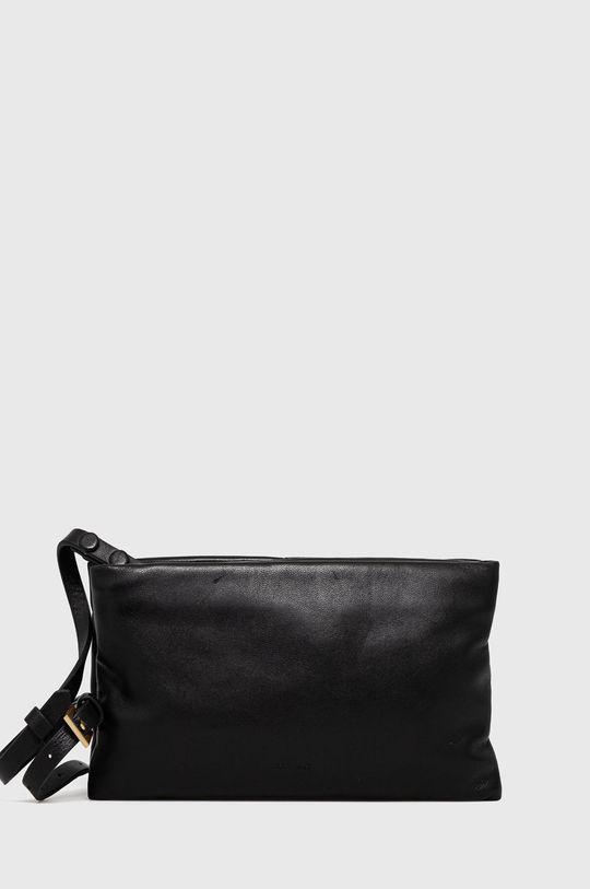 černá AllSaints - Kožená kabelka Dámský