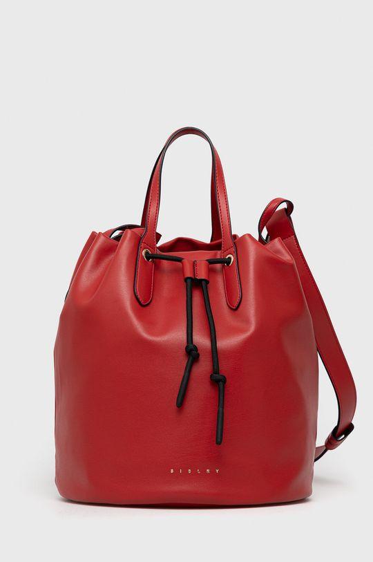 červená Sisley - Kabelka Dámský