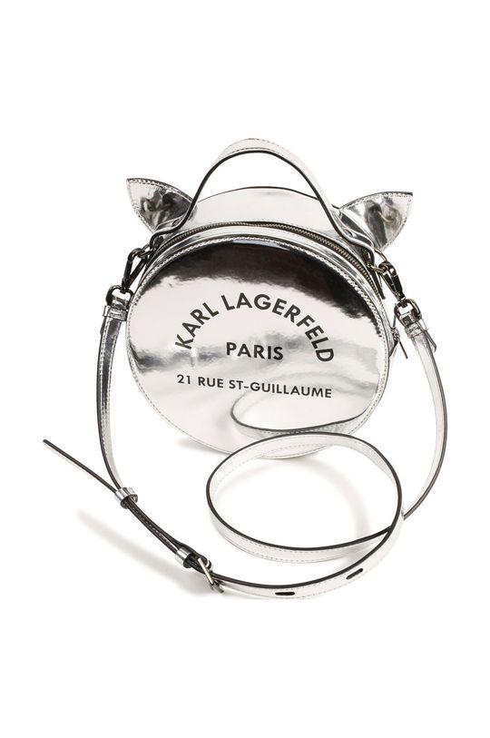 světle šedá Karl Lagerfeld - Dětská kabelka Dívčí