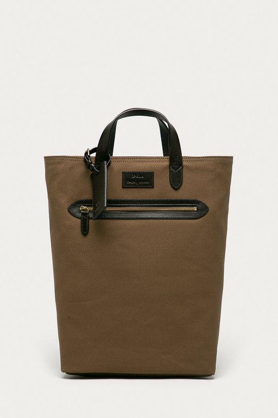 brązowy Polo Ralph Lauren - Plecak Męski