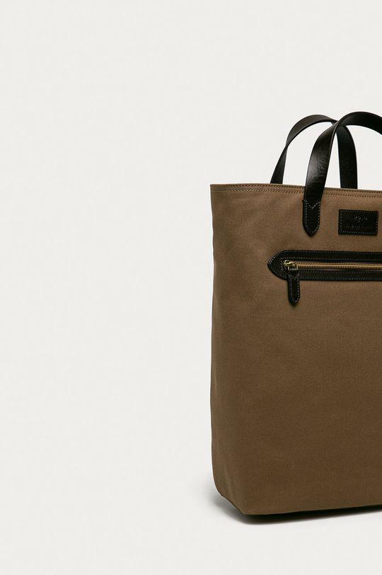 Polo Ralph Lauren - Plecak Materiał zasadniczy: 100 % Bawełna, Wykończenie: 100 % Skóra naturalna