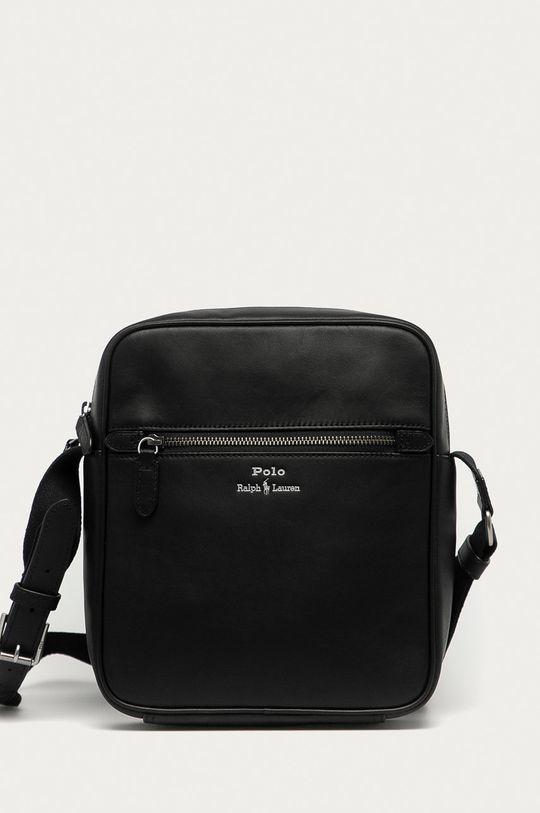 czarny Polo Ralph Lauren - Torba skórzana Męski