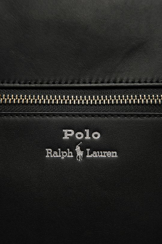 Polo Ralph Lauren - Torba skórzana czarny