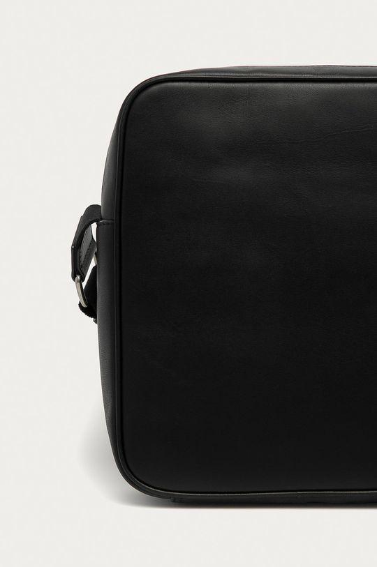czarny Polo Ralph Lauren - Torba skórzana
