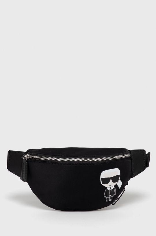 čierna Karl Lagerfeld - Ľadvinka Pánsky