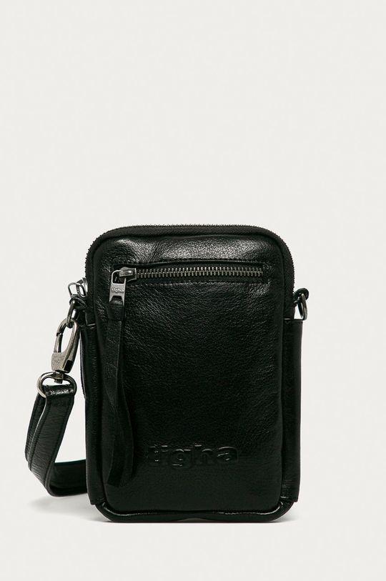 černá Tigha - Kožená taška Amado Pánský