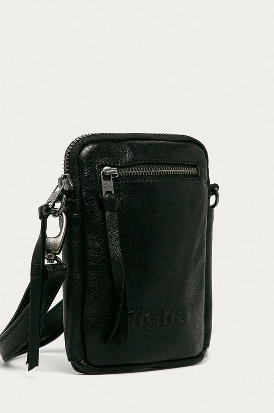 Tigha - Kožená taška Amado černá