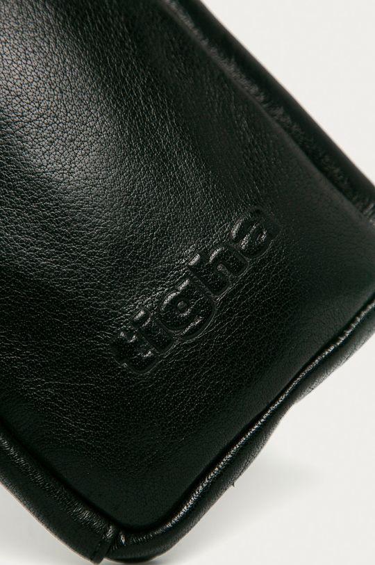 černá Tigha - Kožená taška Amado