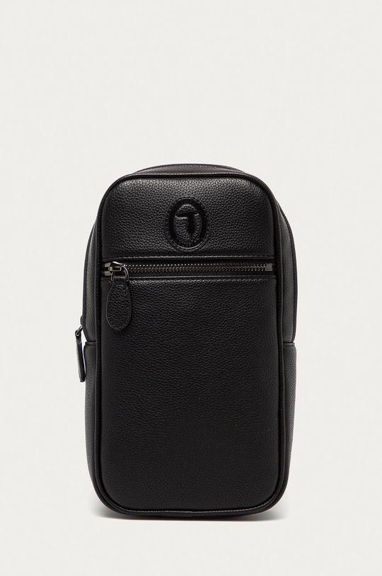 čierna Trussardi Jeans - Malá taška Pánsky