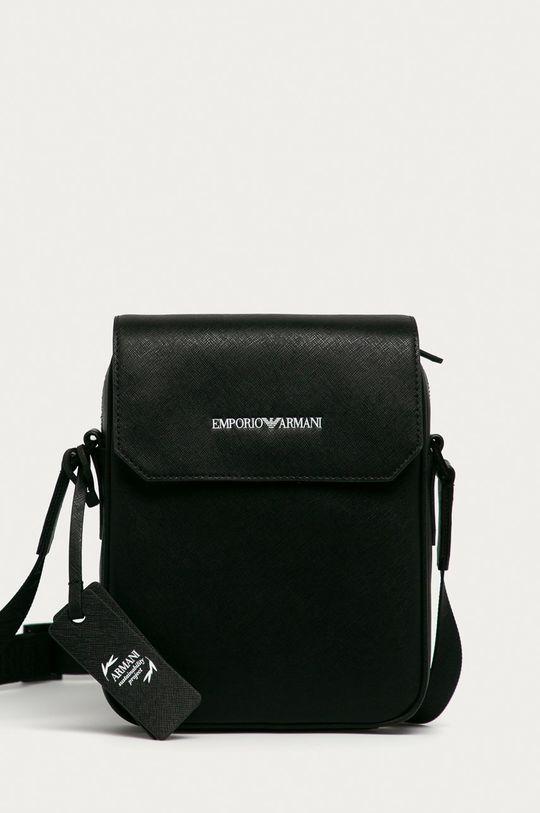 čierna Emporio Armani - Malá taška Pánsky