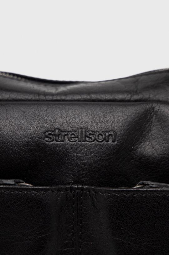 czarny Strellson - Torba skórzana