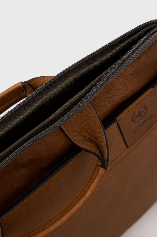 Strellson - Kožená taška Pánsky