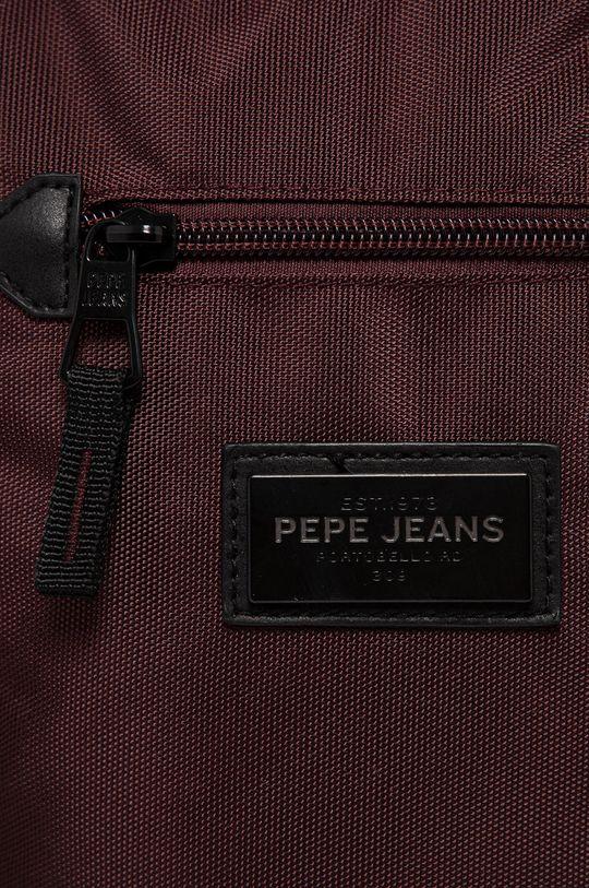 Pepe Jeans - Malá taška Lambert mahagónová