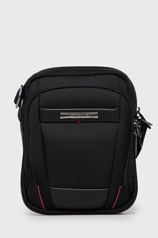 čierna Samsonite - Malá taška Pánsky