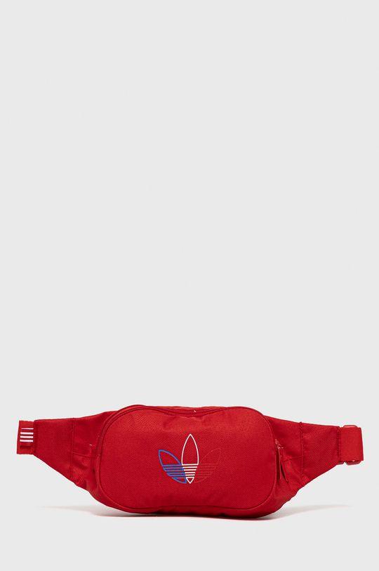 czerwony adidas Originals - Nerka Unisex