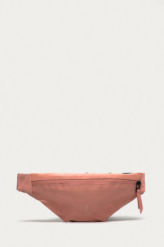 pastelová ružová Rains - Ľadvinka Unisex