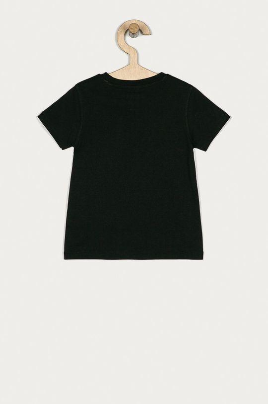 Guess - T-shirt dziecięcy 92-122 cm czarny
