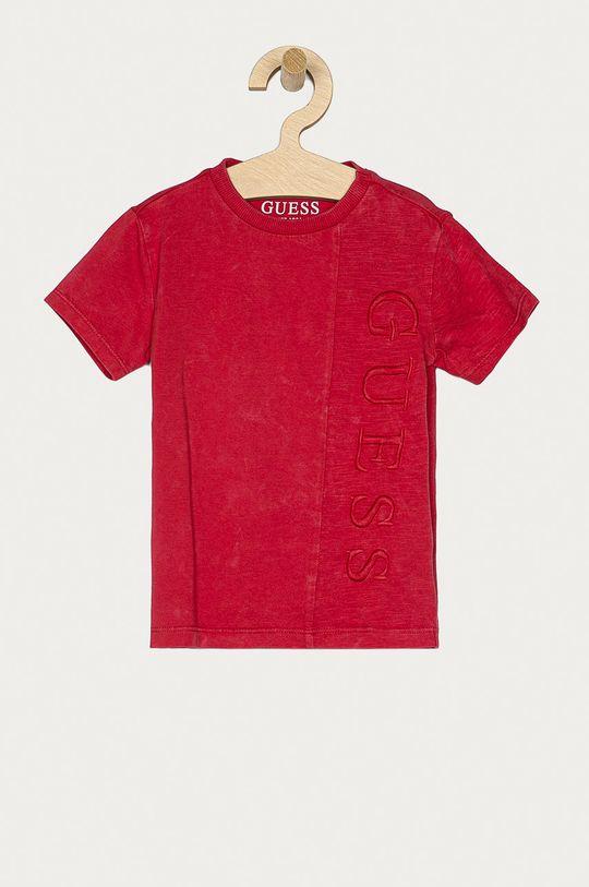 czerwony Guess - T-shirt dziecięcy 92-122 cm Chłopięcy
