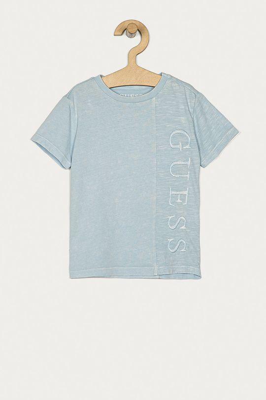 modrá Guess - Detské tričko 92-122 cm Chlapčenský