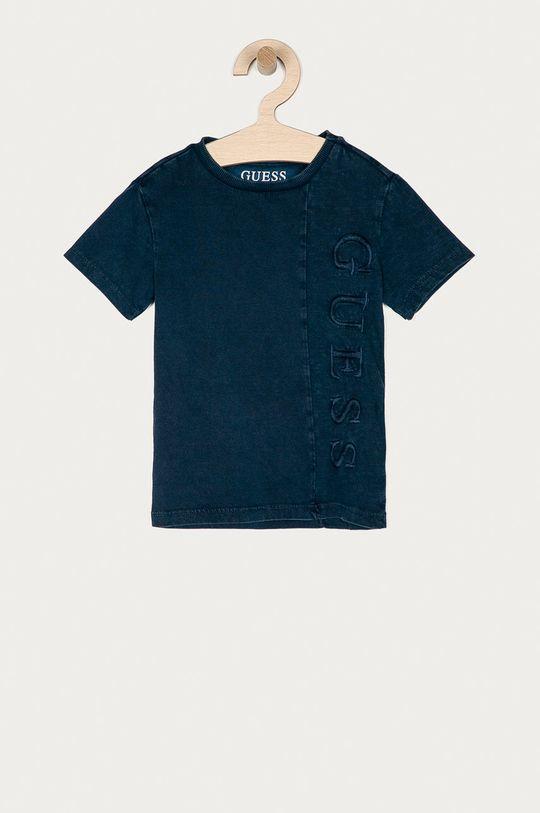 tmavomodrá Guess - Detské tričko 92-122 cm Chlapčenský