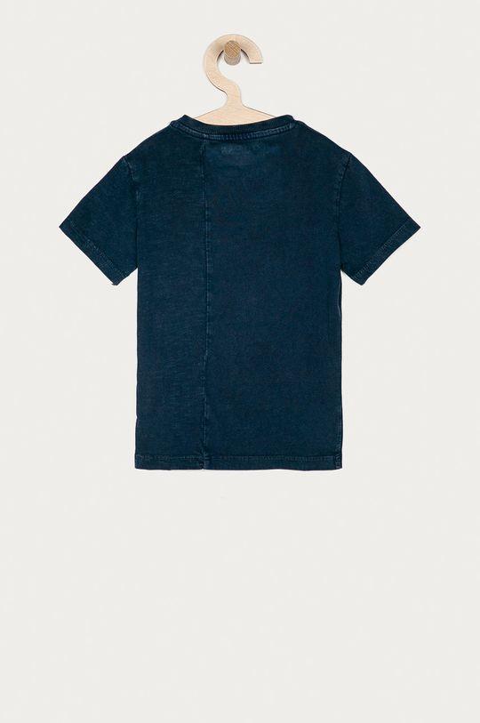 Guess - Tricou copii 92-122 cm bleumarin
