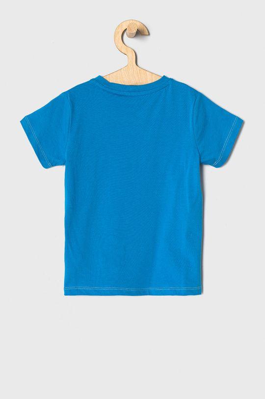Guess - T-shirt dziecięcy 92-122 cm niebieski