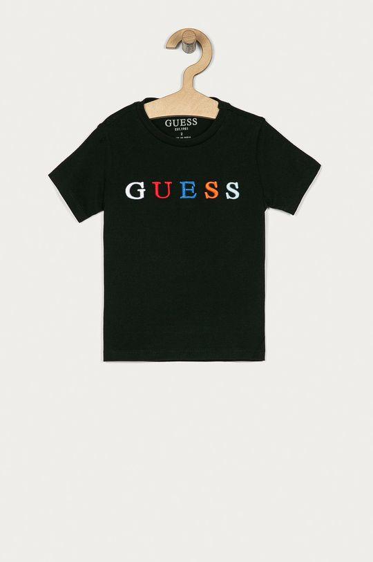 čierna Guess - Detské tričko 92-122 cm Chlapčenský