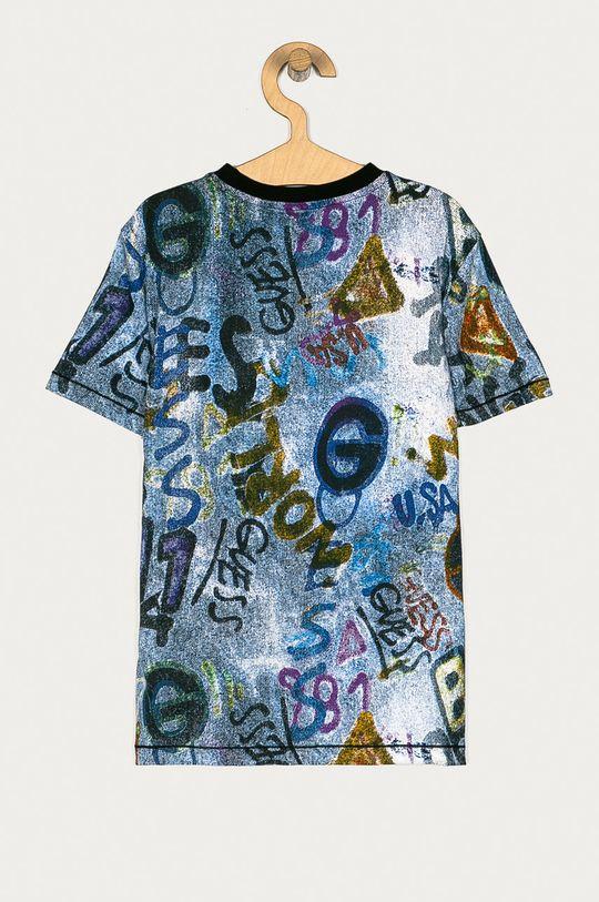 Guess - T-shirt dziecięcy 128-175 cm granatowy