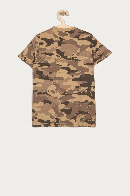 Guess - Dětské tričko 128-175 cm hnědá