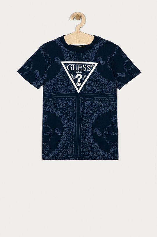 tmavomodrá Guess - Detské tričko 116-175 cm Chlapčenský
