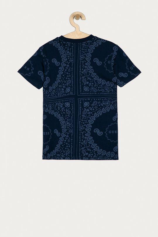Guess - Detské tričko 116-175 cm tmavomodrá