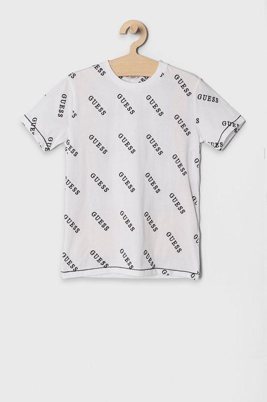 biały Guess - T-shirt dziecięcy 128-175 cm Chłopięcy