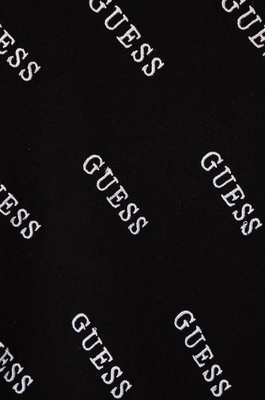 Guess - T-shirt dziecięcy 128-175 cm czarny