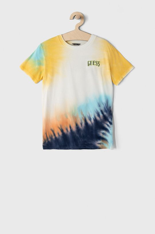 multicolor Guess - T-shirt dziecięcy 116-175 cm Chłopięcy