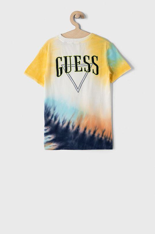 Guess - T-shirt dziecięcy 116-175 cm multicolor