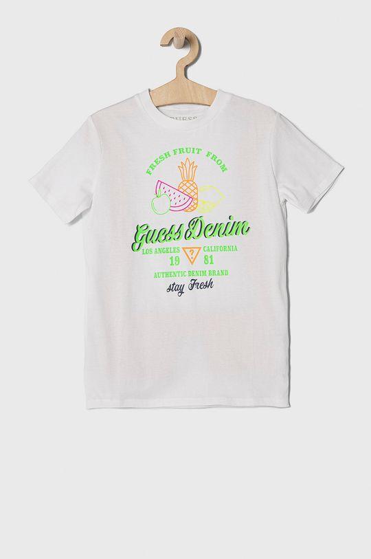 biela Guess - Detské tričko 104-175 cm Chlapčenský