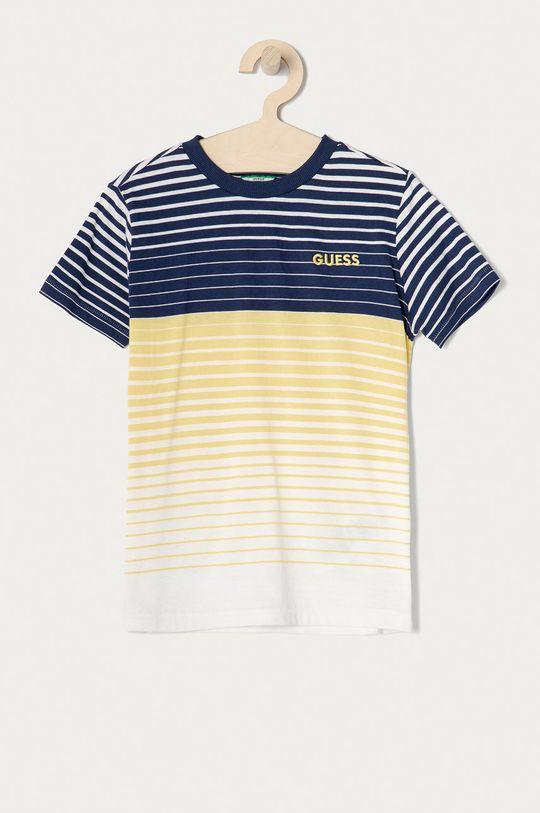 žltá Guess - Detské tričko 128-175 cm Chlapčenský
