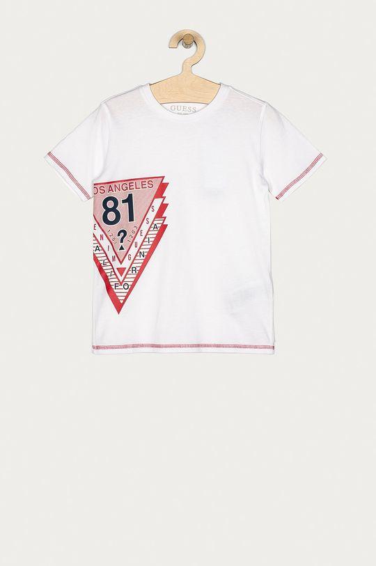 bílá Guess - Dětské tričko 116-176 cm Chlapecký