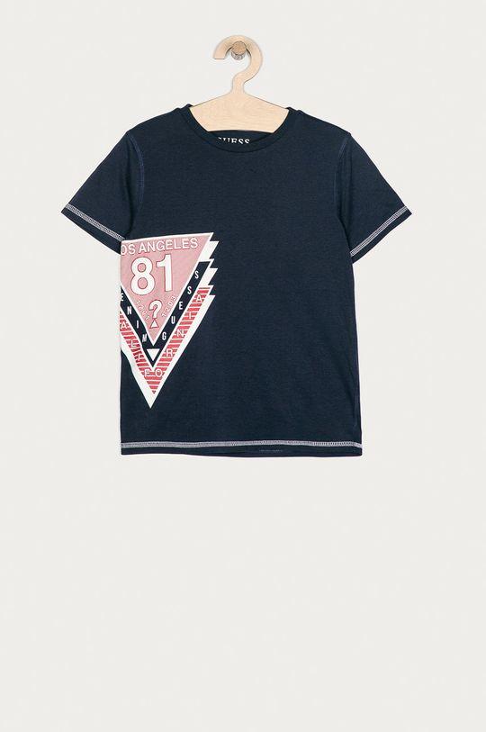 granatowy Guess - T-shirt dziecięcy 116-176 cm Chłopięcy