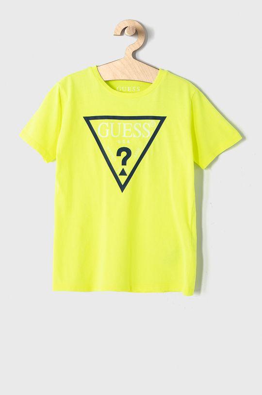 žlutá Guess - Dětské tričko 104-175 cm Chlapecký