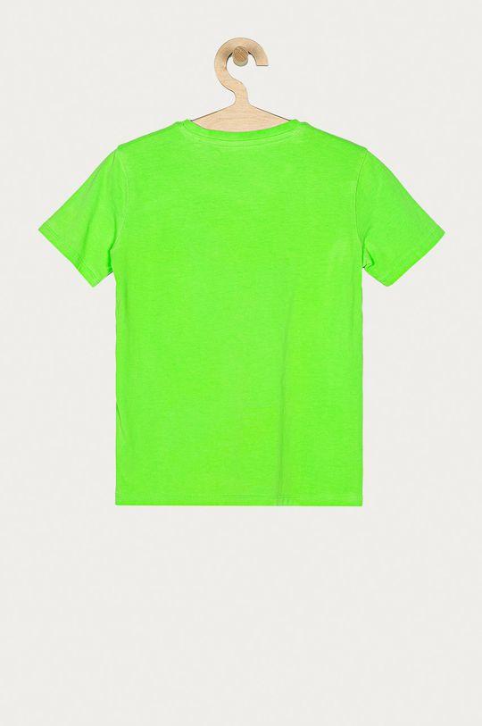 Guess - Dětské tričko 104-175 cm žlutě zelená