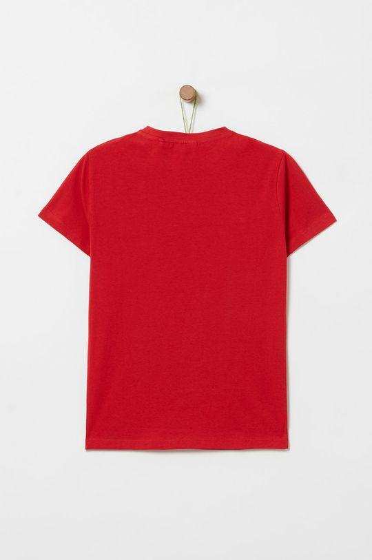 OVS - Дитяча футболка 146-170 cm яскраво-червоний