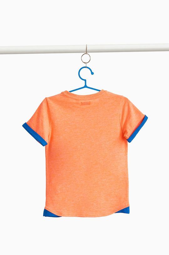 OVS - Дитяча футболка 104-134 cm мандариновий