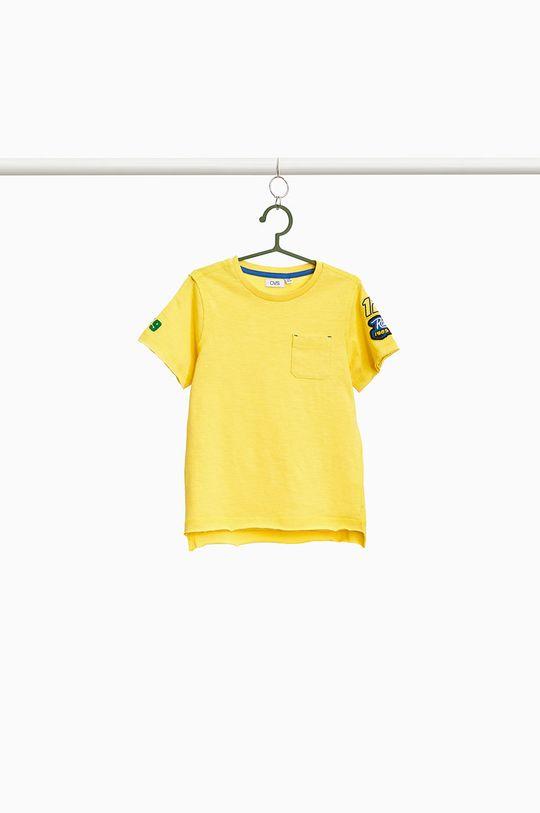 jasny żółty OVS - T-shirt dziecięcy 104-134 cm Chłopięcy