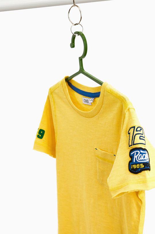 OVS - T-shirt dziecięcy 104-134 cm jasny żółty